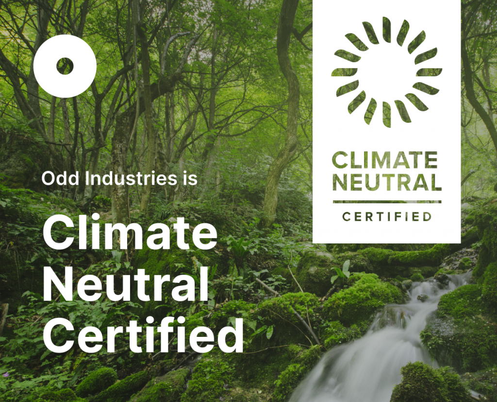 We're Climate Neutral Certified